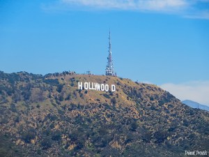 close up shot of the Hollywood Sign Los Angeles, California