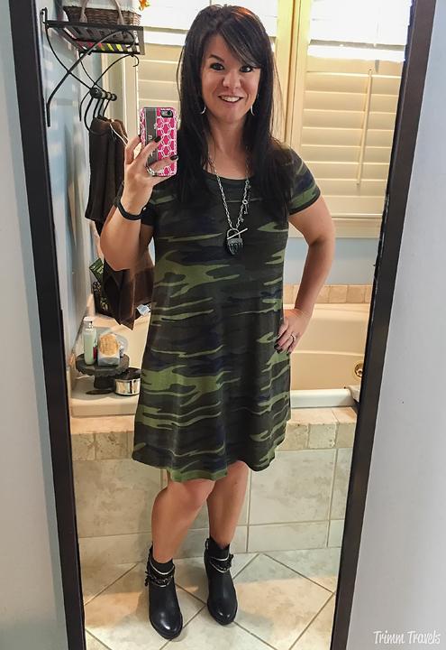 Fall Camo Dress
