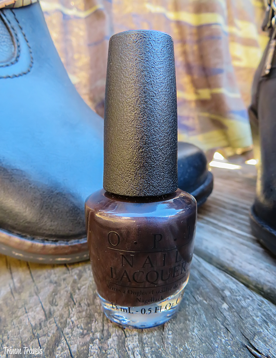 Fall Camo Dress OPI Color