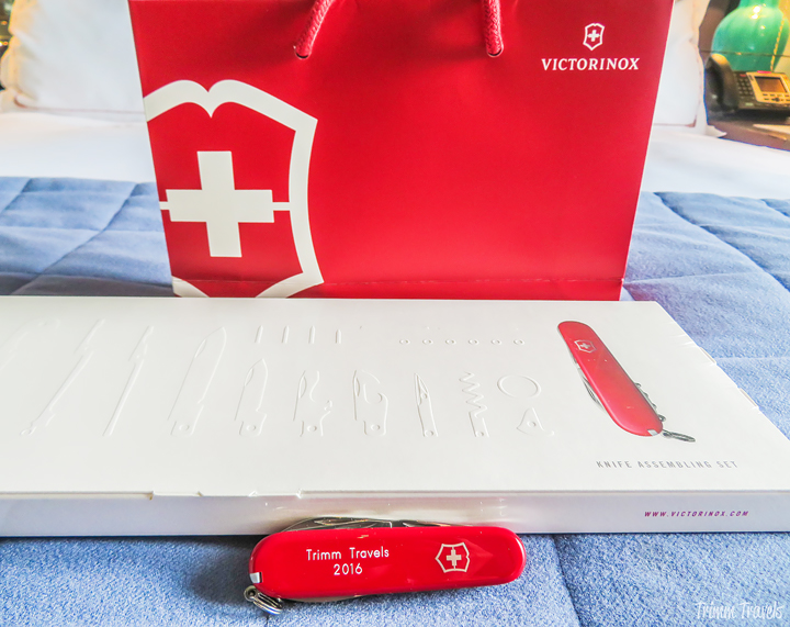 Le Richemond Hotel Room and My Swiss Army Knife