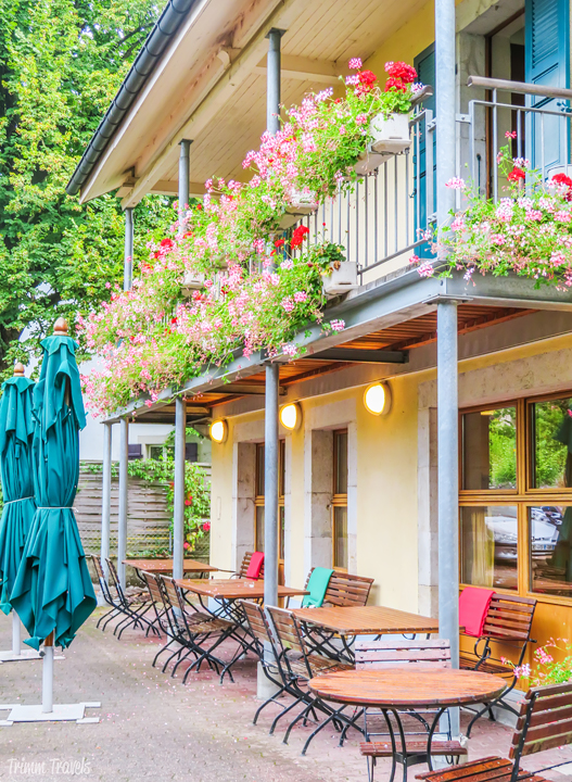 Exterior Cafe de Peney Geneva