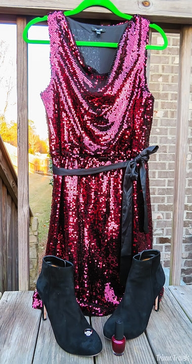 Holiday Events Formal Dress Ensemble
