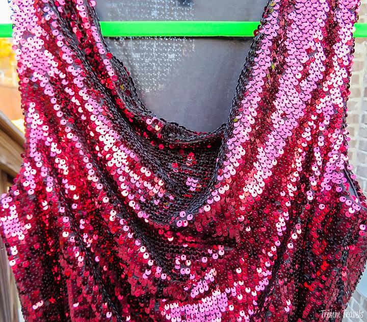 Holiday Events Formal Dress Neckline