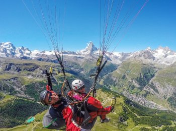 Paragliding in Switzerland with Fly Zermatt