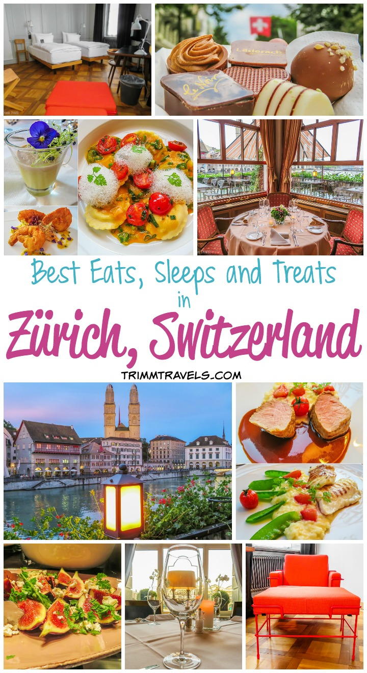 Where To Stay and Eat Zurich Switzerland Title