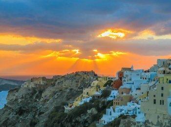 Santorini Sailing and Sunsets