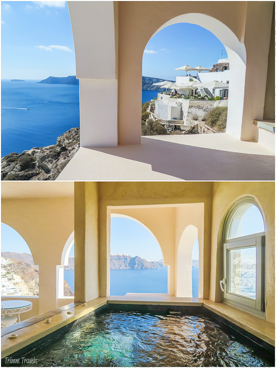 best hotels and iconic locations santorini greece