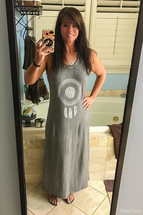 Barcelona Tank Maxi Dress