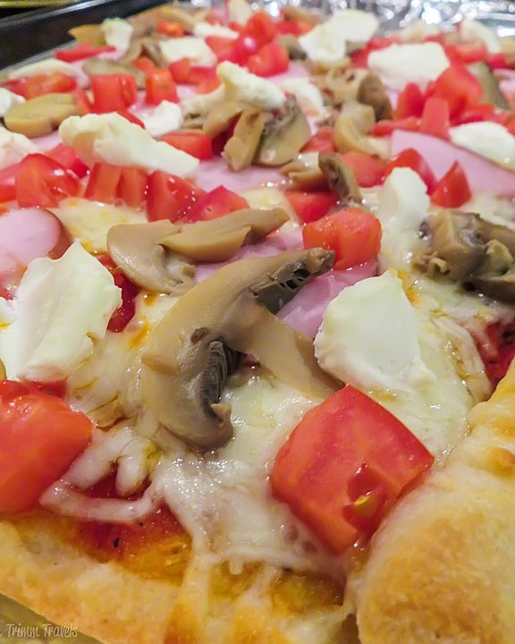 Spanish Summer Pizza