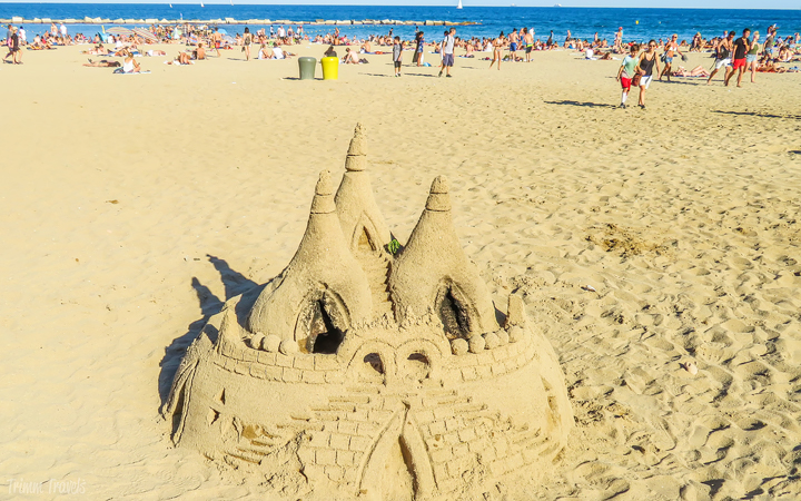 Barceloneta Beach La Playa de Barceloneta Best Places to See First Time Visitor Barcelona Spain