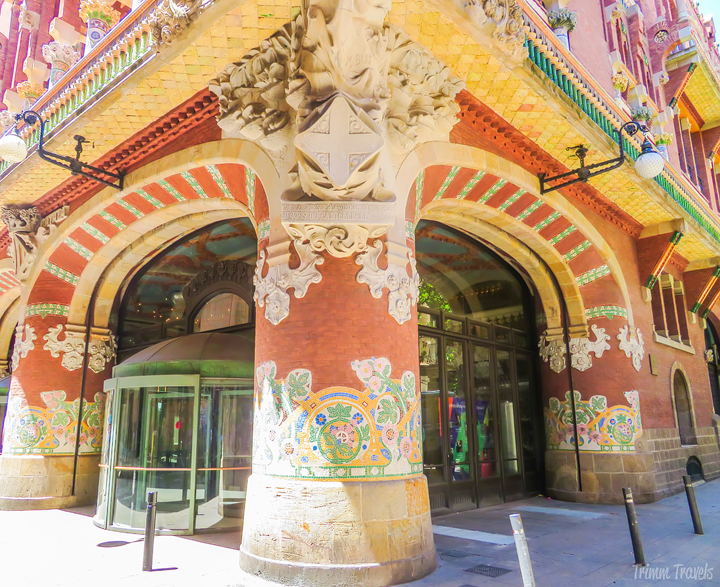 Palau de la Música Best Places to See First Time Visitor Barcelona Spain