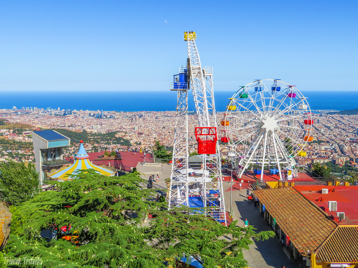 Views Mount Tibidabo Best Places to See First Time Visitor Barcelona Spain