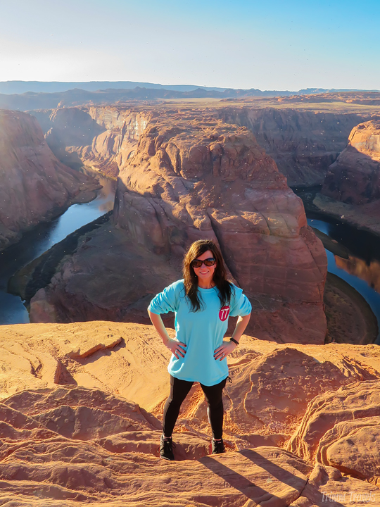me at Horseshoe Bend Arizona