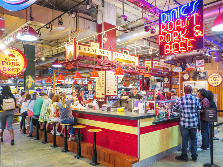 DiNic's at Reading Terminal Market- unique restaurants philadelphia