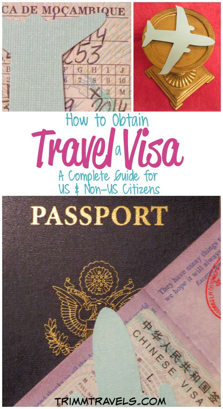 Title pin for Pinterest-Travel Visa