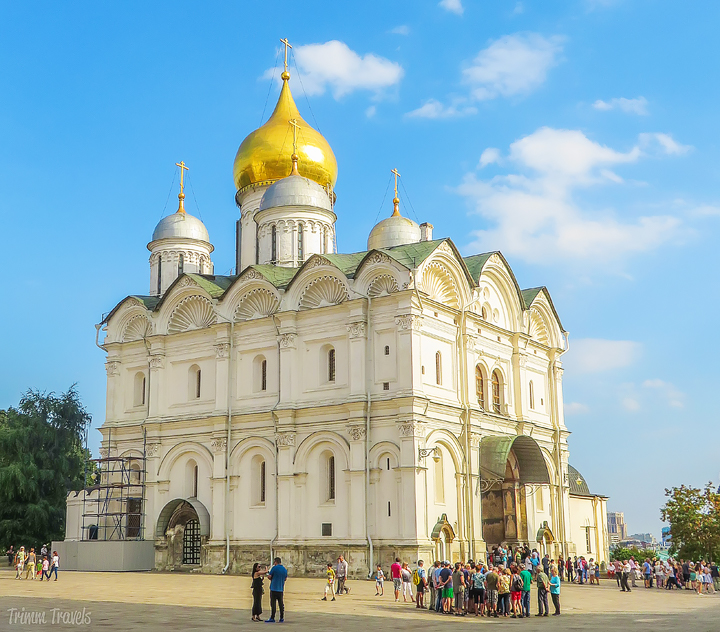 Cathedral of the Archangel Moscow Russia