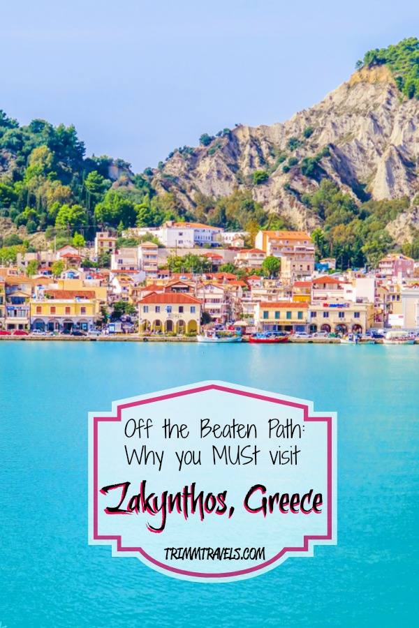 Find out why this Ionian Island is considered to be the most beautiful beach in Greece and why you should go off the beaten path to visit Zakynthos, Greece! #zakynthos #greece #greekislands #europe #gorgeous #destinations #island #travel