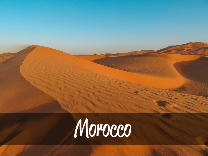 Trimm Travels: Morocco