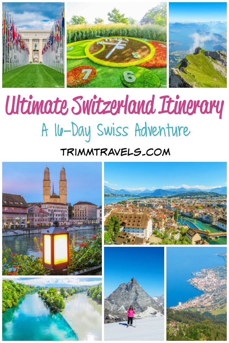 Stop right there. Don't worry, don't stress. Planning a trip to Switzerland is super easy with this perfect Switzerland Itinerary. Work done, you play! #switzerland #itinerary #travel #traveltips #planning #swisstravel