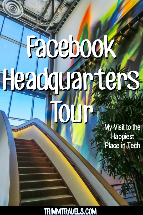 See what it's like to take a Facebook headquarters tour. Discover what it's like to be on the campus of this social media giant, the happiest place in tech! #facebook #headquarters #tour #fb #california #sanfrancisco #menlopark #socialmedia #usa #destinations #travel