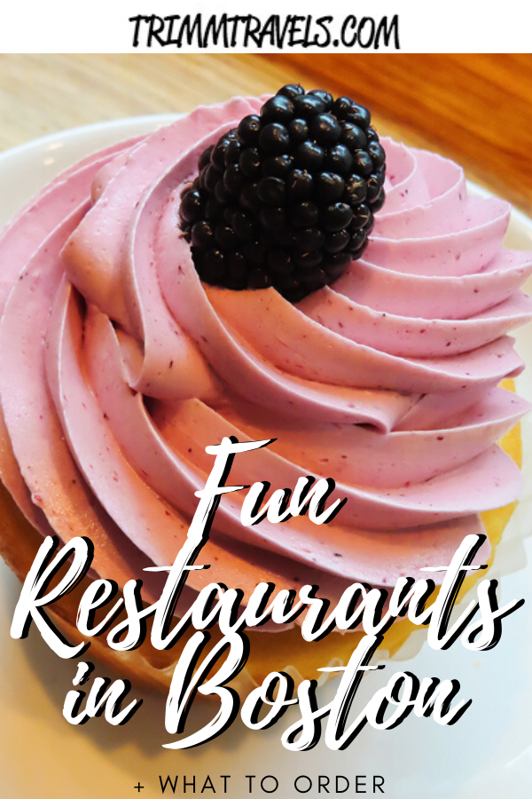 If you didn't know that Boston is a foodie city you're in for a sweet surprise. Use my guide to fun restaurants in Boston to find the best eats and treats! #food #boston #foodie #restaurants #bostonmass #massachusetts #usa #travel #wheretoeat