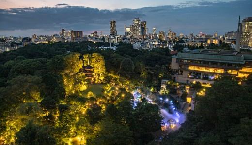 ホテル椿山荘の庭園で雲海とほたるを見る