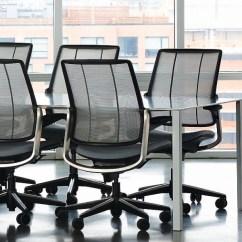 Diffrient Smart Chair Black Outdoor Rocking Humanscale Trim Tab