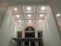 Beamed coffered ceilings installtions Toronto MDF drywall ...