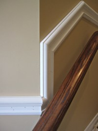 Images picture gallery crown moulding work installtion ...