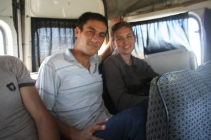 Van in Uzbekistan
