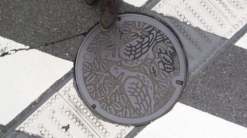 It bodes well when a country even thinks to make its manhole covers attractive.