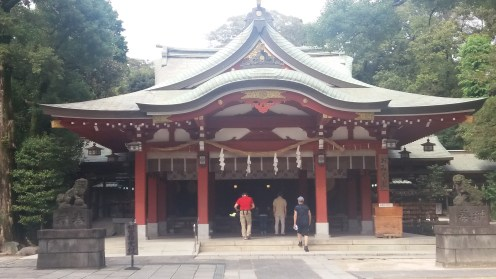 The temple I stumbled upon in Koshigaya. Loved it here.