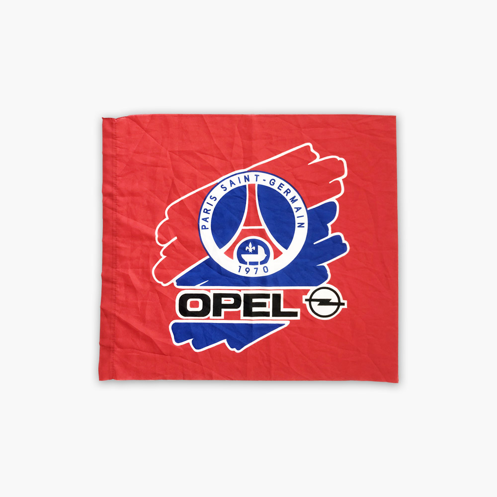 Drapeau PSG Opel saison 1996-1997