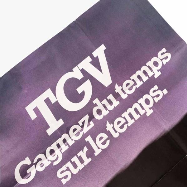 Affiche SNCF TGV
