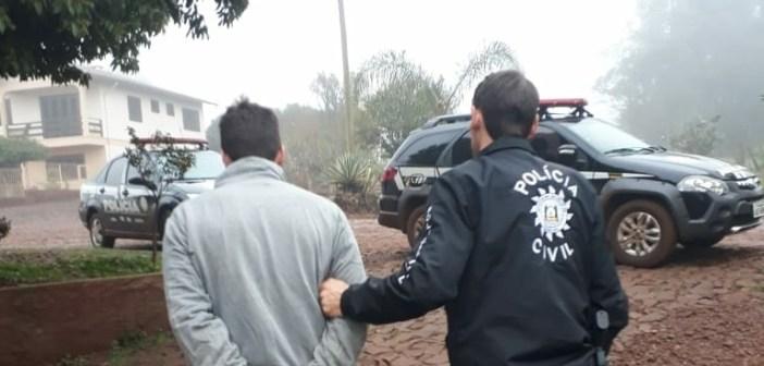 Polícia Civil prende terceiro acusado de roubo a bancos em Entre Rios do Sul