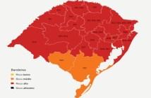 Com isso, de forma preliminar, 469 municípios (do total de 497) estarão classificados em bandeira vermelha | Foto: Governo do RS / Divulgação