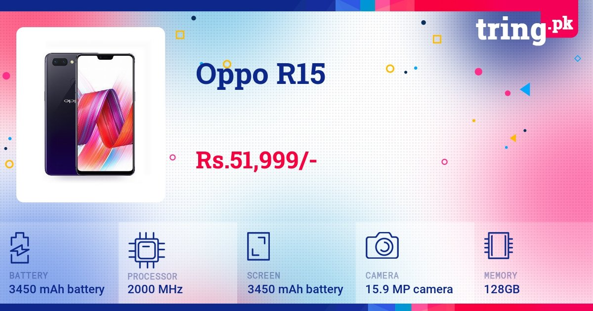 Oppo R15 price in Pakistan