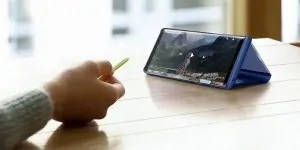 The S Pen can control the note 9 camera remotely