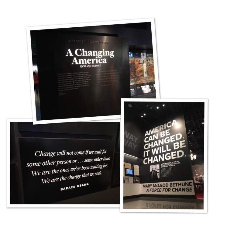 African American Museum, Change