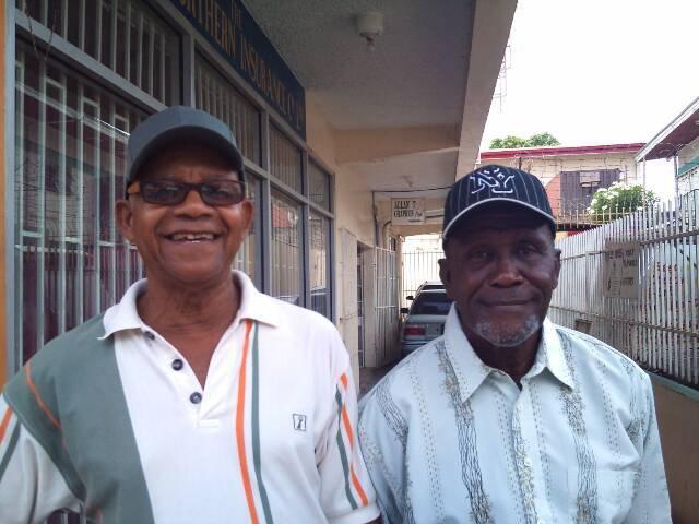 Mr Trevajo and Mr Williams Arima Boys RC