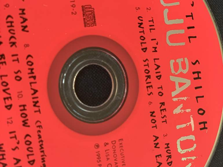 'Til Shiloh by Buju Banton album cover.