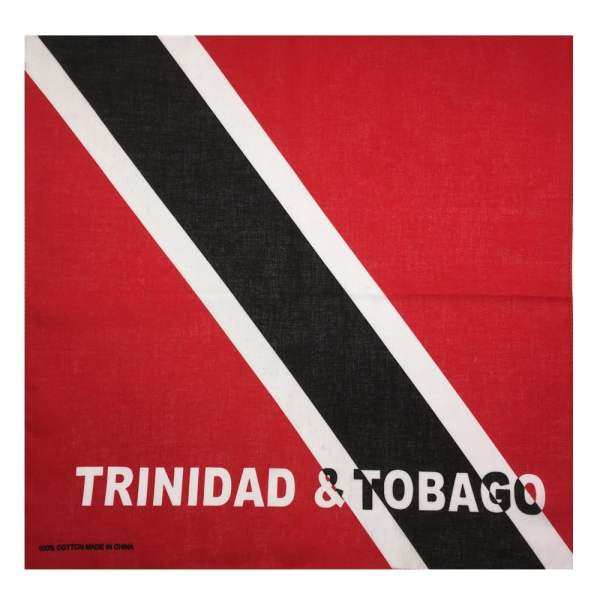 Trinidad & Tobago Flag Bandanna