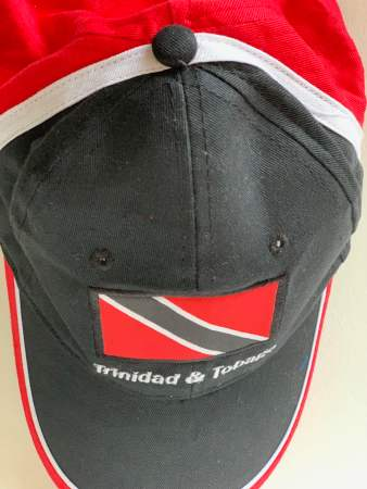Red White Black Baseball Cap