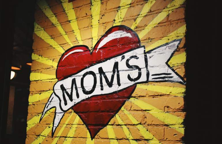 mother-giver heart