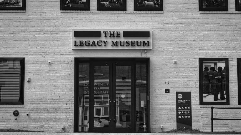 The Legacy Museum, Montgomery Alabama.
