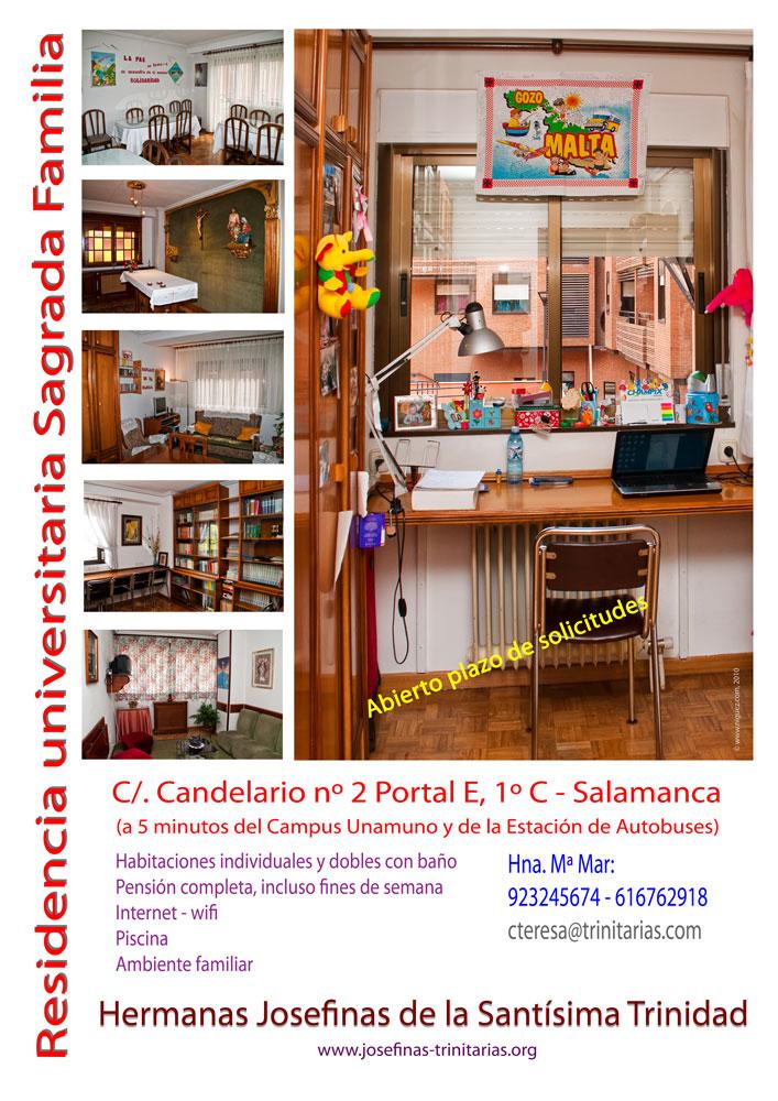 Cartel-residencia-Sagrada-Familia