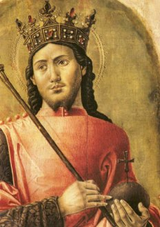 Saint Louis par Bartholomeo Vivarini vers 1477