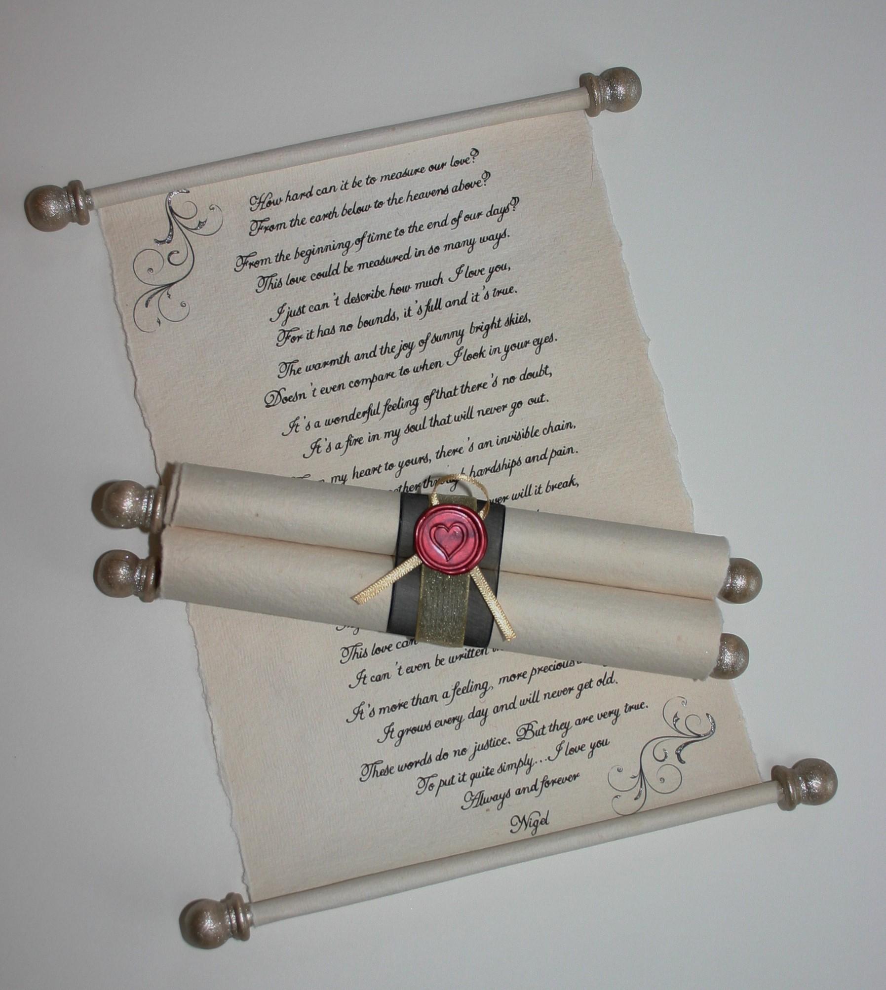 luxury scrolls trinitybox