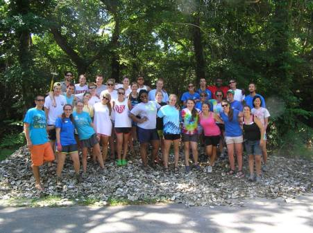 Camp Trinity and Sound to Sea staff ~ what a TEAM!