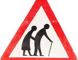 elderly caution